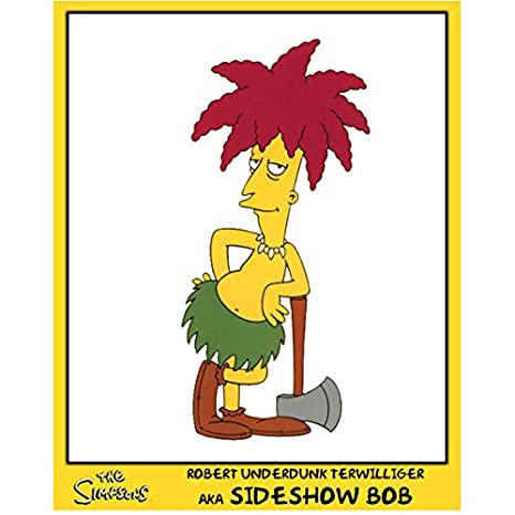 The Simpsons Sideshow Bob Pictured 8 X 10 Inch Photo At Amazons