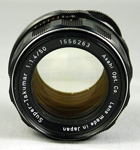 (Pentax 50mm f/1.4 Super-Takumar Screw Mount Lens for Pentax Spotmatic Camera)