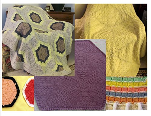 Skerin Knit Afghan Patterns and other designs on CD - 23+ Exclusive Original Design Patterns by Susan Kerin by Skerin
