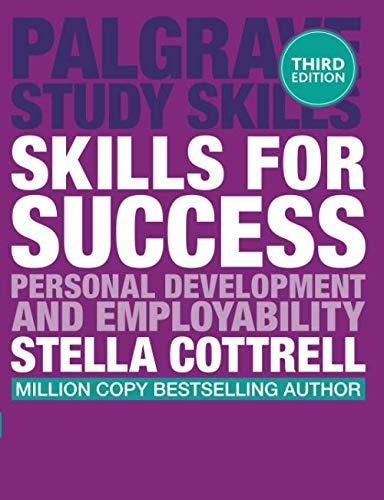 Skills For Success  Personal Development And Employability  Macmillan Study Skills