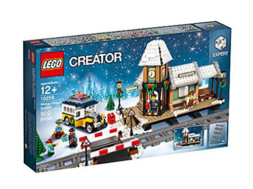 (Lego Creator Winter Village Station -10259(902 pieces))