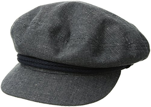 - Brixton Men's Fiddler Greek Fisherman Hat, slate, Large