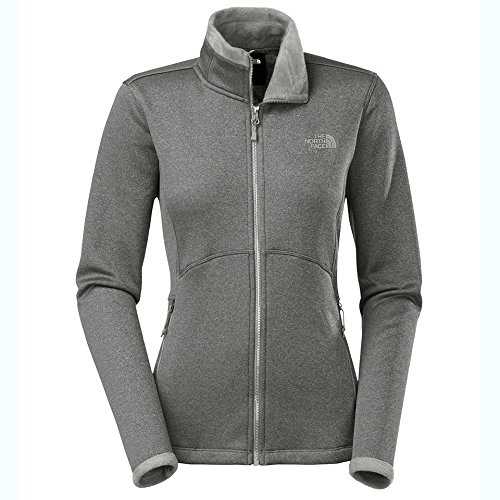 The North Face Women's DWR Fleece Agave Jacket-XLarge-Silver