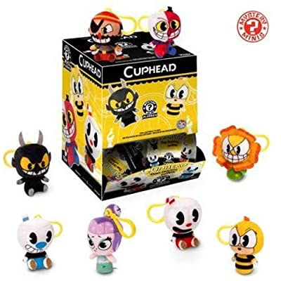 Funko Blindbag Keychain Plush: Cuphead - One Mystery Keychain Collectible Figure, Multicolor: Toys & Games