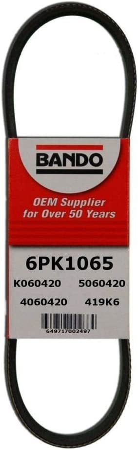 D/&D PowerDrive 6PK1205 Metric Standard Replacement Belt