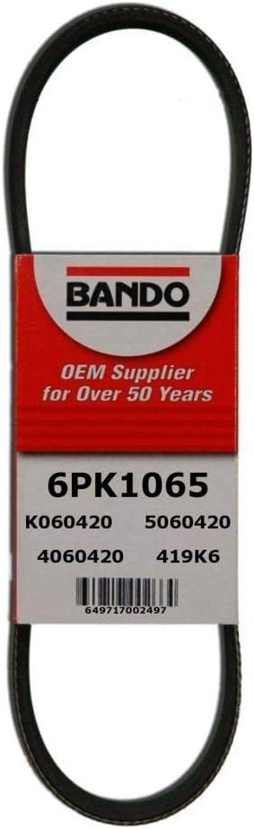 D/&D PowerDrive 6PK2120 Metric Standard Replacement Belt