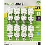 GE 13-Watt Energy Smart Fluorescent Light Bulbs, 32 Pack, 60 Watt Replacement