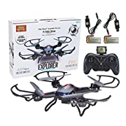 Amazon Lightning Deal 100% claimed: Holy Stone Chaser RC Drones with HD Camera, 4CH 2.4GHz Equipped with Headless System(A Key Return)