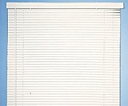 Achim Home Furnishings Morning Star 1-Inch Mini Blinds, 27 by 72-Inch, White