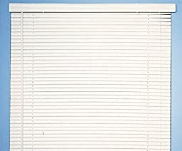 Achim Home Furnishings Morning Star 1-Inch Mini Blinds, 36 by 72-Inch, White