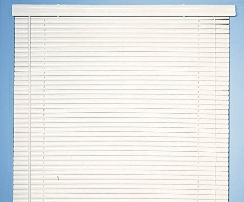 Achim Home Furnishings Morning Star 1-Inch Mini Blinds, 32 by 48-Inch, White VY3248WH06