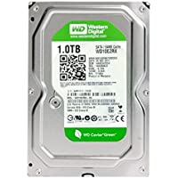 Western Digital(WD) GREEN INTELLISTORE/AV Deskptop 1TB( 1Terabyte) 3.5Hard Disk Drive, SATA2~SATA3 (3.0GB/S~ 6.0GB/s),32MB~ 64MB Cache, IDEAL for PC/Mac/CCTV/NAS/DVR/Raid , 1YR Warranty (Green)