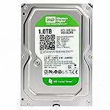"Western Digital(WD) GREEN INTELLISTORE/AV Deskptop 1TB( 1Terabyte) 3.5""Hard Disk Drive, SATA2~SATA3 (3.0GB/S~ 6.0GB/s),32MB~ 64MB Cache, IDEAL for PC/Mac/CCTV/NAS/DVR/Raid , 1YR Warranty (Green)"