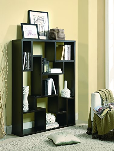 Coaster Home Furnishings 9-shelf Bookcase Cappuccino