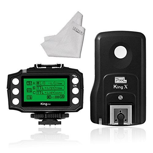 Pixel King PRO 3rd Generation Wireless TTL Flash Trigger Set for Sony by Pixel