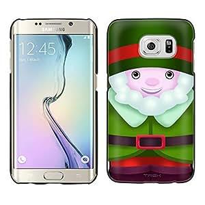 Samsung Galaxy S6 Edge Plus Case, Snap On Cover by Trek Happy Elf Case