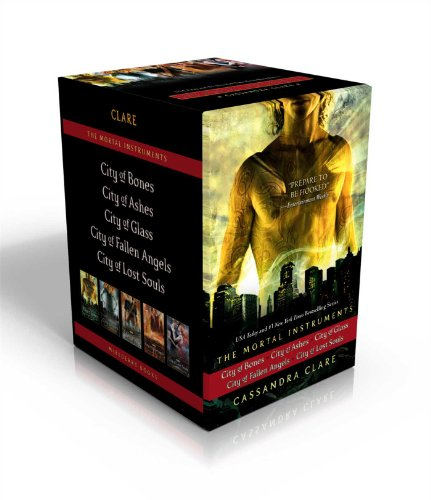 City of Bones / City of Ashes / City of Glass / City of Fallen Angels / City of Lost Souls - Book  of the Mortal Instruments