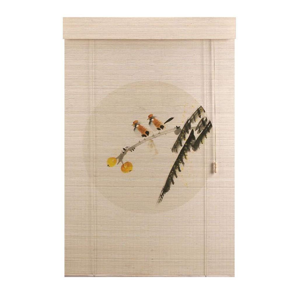 WUFENG 竹製カーテン 印刷 ローラーブラインド 防塵 防腐剤 環境を守ること 無味 ローマンブラインド、 複数のサイズ カスタマイズ可能 (Color : C, Size : 150x300cm) B07SYBTCLM C 150x300cm