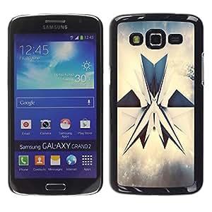 Exotic-Star ( abstrakciya render grani figura ) Fundas Cover Cubre Hard Case Cover para Samsung Galaxy Grand 2 II / SM-G7102 / SM-G7105