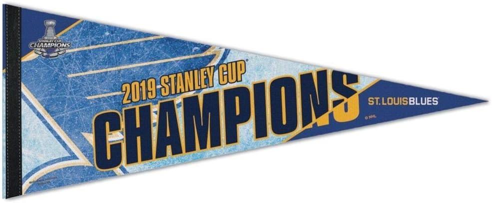 fanions en Feutre 30,5 x 76,2 cm Wincraft NHL St Louis Blues 2019 Stanley Cup Champs