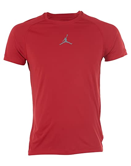 c6cbad12c37 Jordan Aj All-Season Fitted Short Sleve Mens Style: 642404-687 Size: 3XL:  Amazon.in: Sports, Fitness & Outdoors