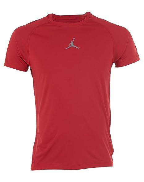 3b97e2b32de831 Image Unavailable. Image not available for. Color  Jordan All-season Dri-Fit  Compression Shirt Short ...