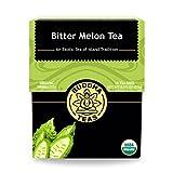 Organic Bitter Melon Tea - Kosher, Caffeine-Free, GMO-Free - 18 Bleach-Free Tea Bags