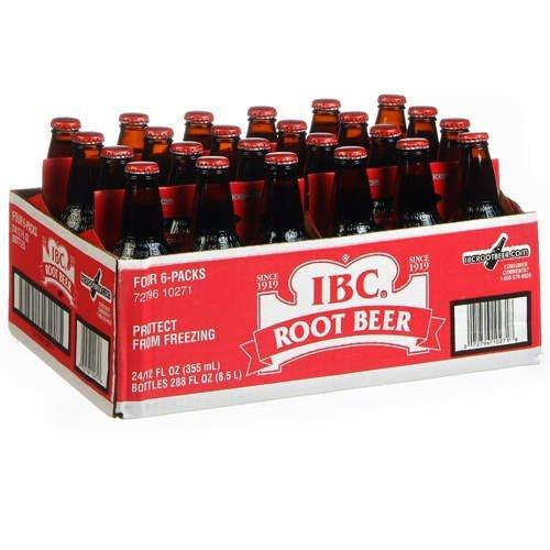 Ibc Root Beer   24 12 Oz  Bottles