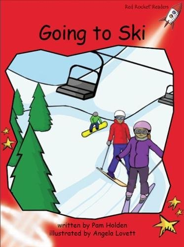 Going to Ski (Red Rocket Readers)