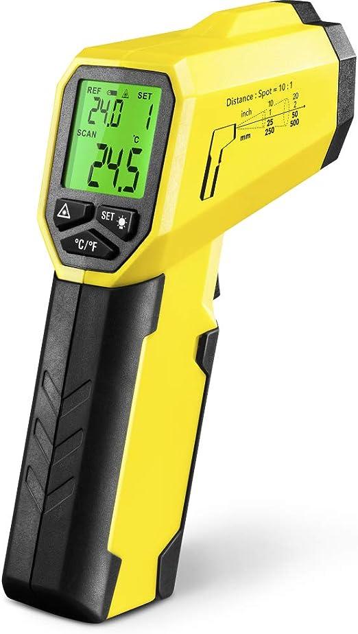 Trotec Bp17 Infrarot Thermometer Pyrometer Temperaturmessgerät 50 C Bis 380 C Baumarkt