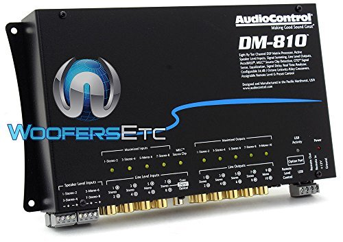 AudioControl DM-810 8 By 10 Channel Matrix Digital Signal Processor (Active Processor)