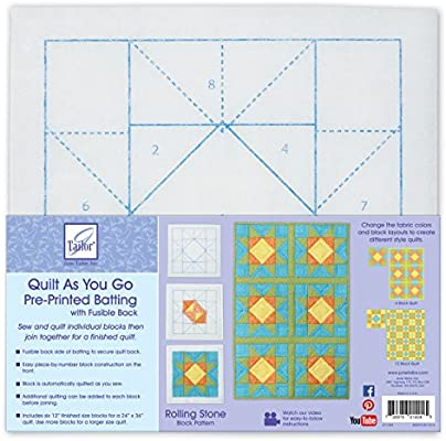 Hopscotch JT-1403 June Tailor Block Series Quilt As You Go