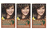 clairol natural instincts red - Clairol Natural Instincts Semi-Permanent Hair Color (Pack of 3), 20 Hazelnut Medium Brown Color, Ammonia Free, Long Lasting for 28 Shampoos