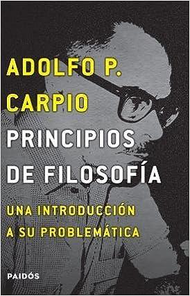Book Principios De Filosofia