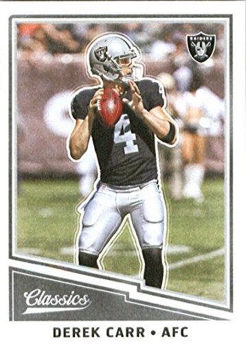 2017 Panini Classic #15 Derek Carr Oakland Raiders Football Card