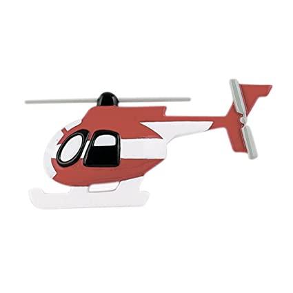 Personalized Helicopter Christmas Ornament for Tree 2018 - Flying Red White  Craft - Hovering Airbus Flight - Amazon.com: Personalized Helicopter Christmas Ornament For Tree 2018