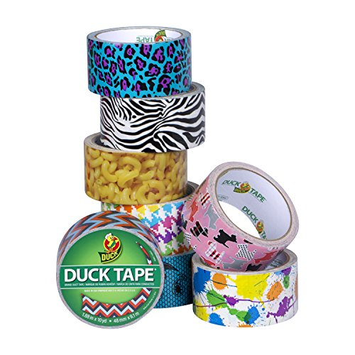 Duck Brand 283040 Printed Duct Tape, Mac'n Cheese, 1.88 Inches x 10 Yards, Single Roll by Duck (Image #6)