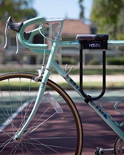 Huldit Bike U-Lock Holder, D Lock Holder, Lock Mount, (Huld it)