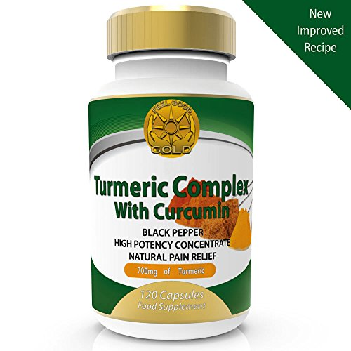 Turmeric Curcumin with Bioperine Black Pepper for Max Absorption. 1500mg...