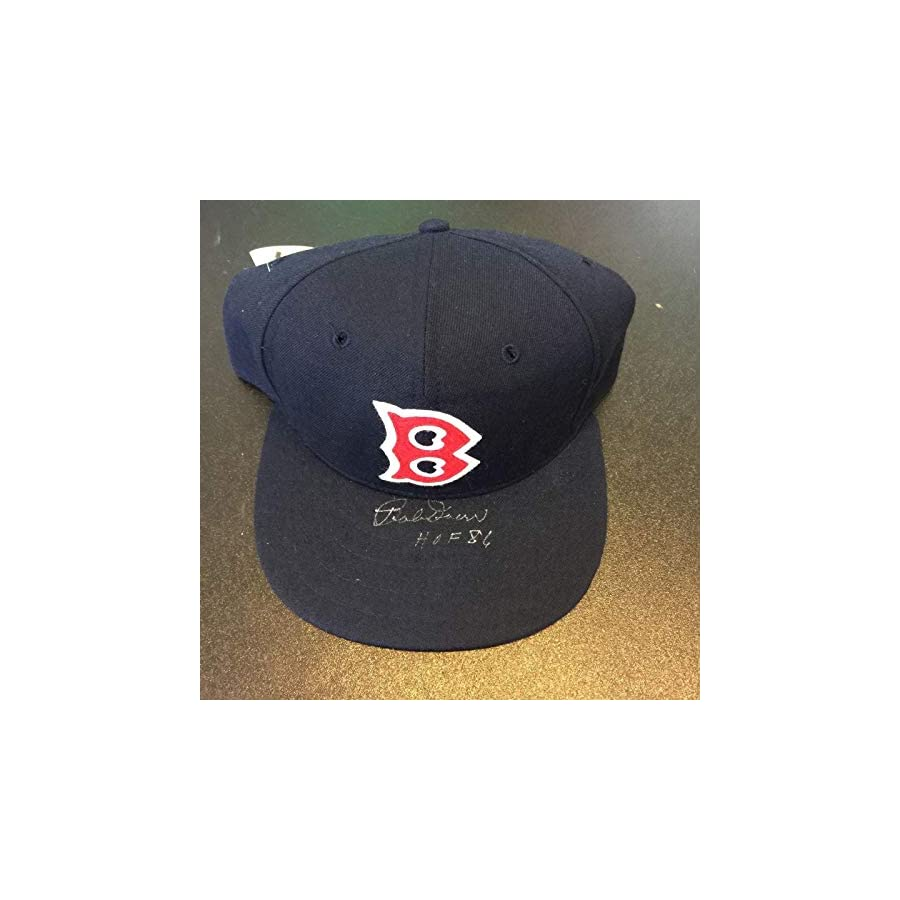 "Bobby Doerr""HOF 1986"" Signed Game Model Boston Red Sox Cap Hat COA PSA/DNA Certified Autographed Hats"