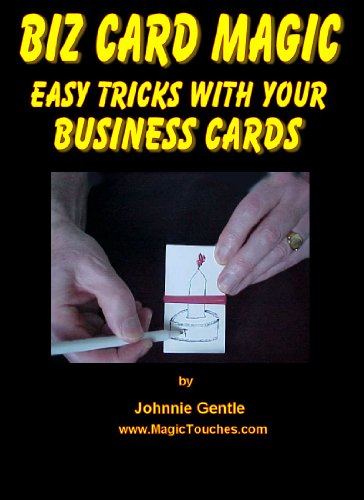 Amazon biz card magic easy tricks with your business cards biz card magic easy tricks with your business cards amazing magic tricks book 3 colourmoves