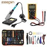 [Upgraded Version 2018] Electric Soldering Iron Kit, ZEEPIN 23 in 1 Soldering Kit