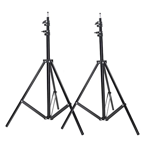 Neewer Set of Two 9 feet/260 centimeters Photo Studio Light Stands for HTC Vive VR, Video, Portrait, and Product Photography