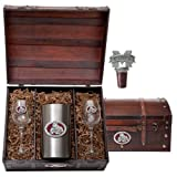 Mississippi State Bulldogs Wine Chest Set