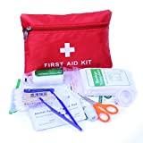First Aid Kit for Emergency for Car Home Office Outdoors Camping Travel