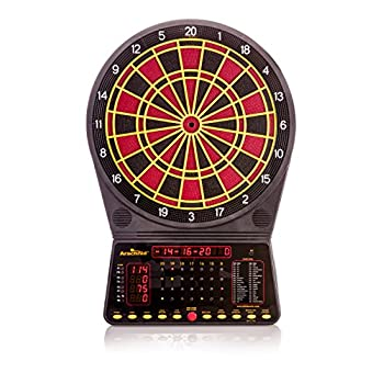 Image of Arachnid Cricket Pro 300 Soft-Tip Electronic Dartboard Game Features 36 Games with 170 Options Dartboards