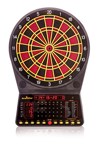 Arachnid Cricket Pro 300 Soft-Tip Electronic Dartboard Game Features 36 Games with 170 Options