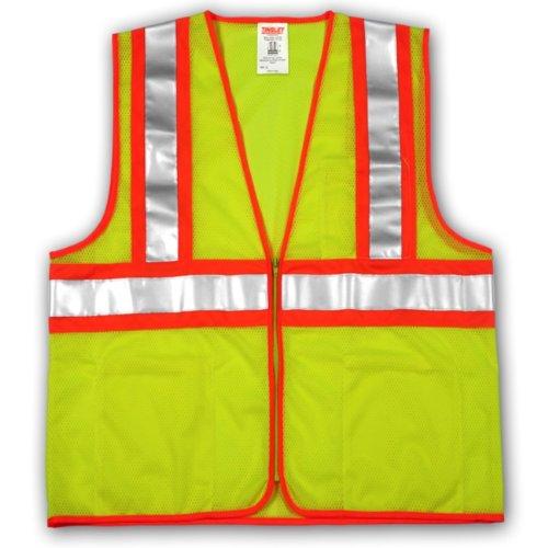 Tingley Rubber V70642 Class 2 Mesh Safety Vest, XX-Large/3X-