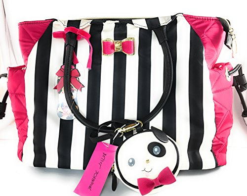 Stripe Baby Diaper Bag - 8