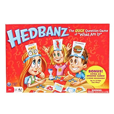HedBanz Limited Edition Bonus Board Game